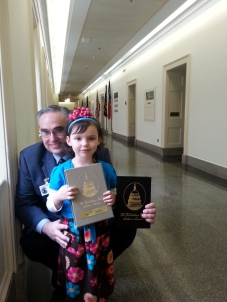 Ready to Present Rep. Meadows a Special Book on the Foundations of America