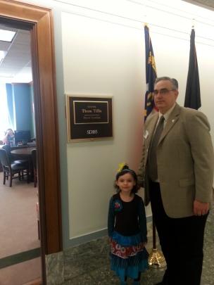 Ready to Meet Senator Tillis' Office