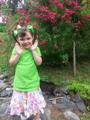 Enjoyed our roses