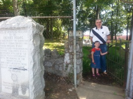 Visiting Brainerd Mission Cemetery