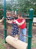 Park time with PopPop and MeMe