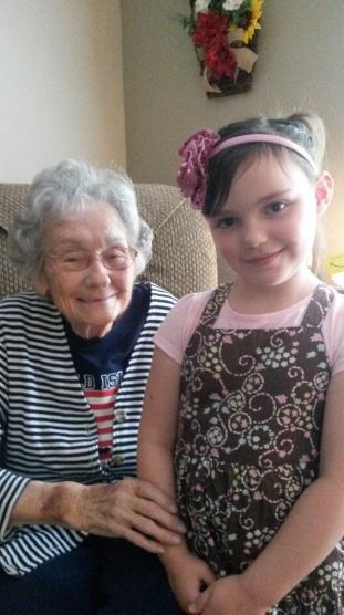 AbiNoelle and Grandma