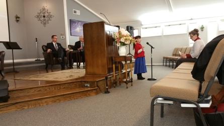 Quoting Scriptures in Church