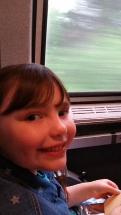 Taking the train into D.C.