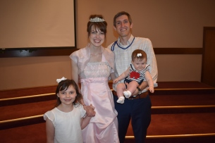 Pics with Princess, Captain Adam, and their new addition.